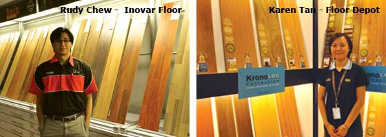 A Special Thanks To Karen Tan From Floor Depot (www.floodepot.com.my) And  Rudy Chew From Inovar Floor (www.inovarfloor.com) For Their Useful Insight  On The ...